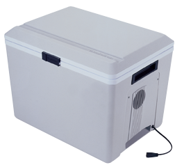 Iceless 34 Liters 12v Thermoelectric Travel Cooler or Warmer / P75-SECOND