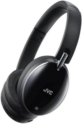 JVC Wireless On-Ear Headphones with Mic and Remote Control - Black / HA-S90BN