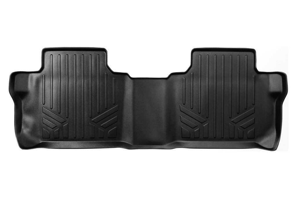 Maxliner Black Second Row Floor Liner - 2017-2020 GMC Acadia with Second Row Bench Seat black