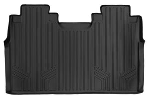 Maxliner Black Second Row Floor Liner - 2015-2020 Ford F150 Crew With First Row Bench Seats black