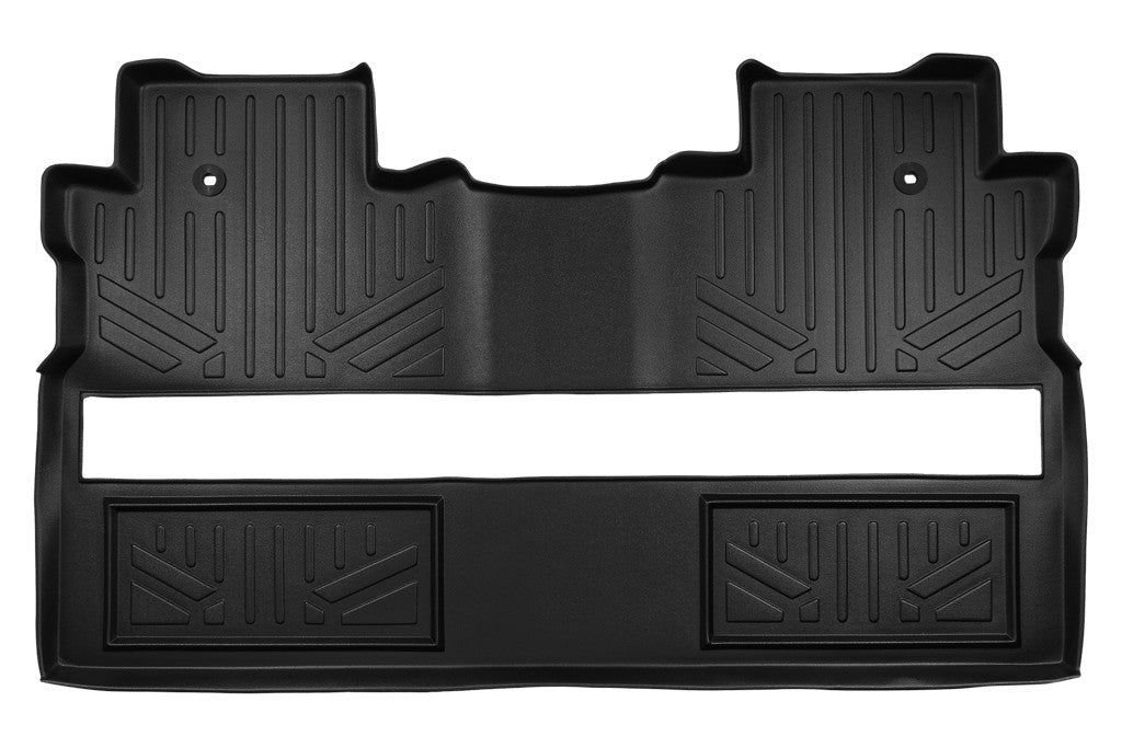 Maxliner Black Second Row Floor Liner - 2017-2020 Honda Ridgeline black