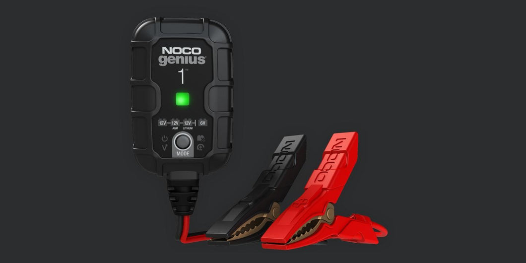 NOCO Genius 1-Amp Battery Charger