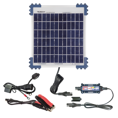 OptiMate Solar 10W Kit Battery Saving Charger / TM-522-1