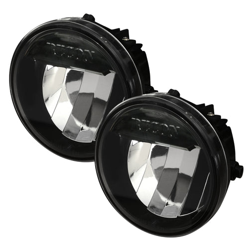 RECON™ 2-Piece Set Fog Lights LED in Smoked/Black Lens for 2009-2014 Ford F-150 / 264513BK