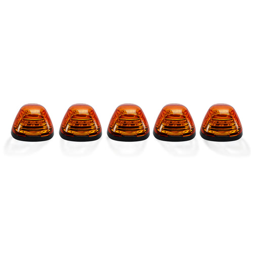 RECON™ 5-Piece Cab Lights Amber Lens in Amber for 1999-2016 Ford Super Duty / 264143AM