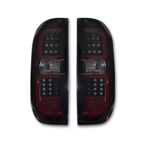 RECON LED Tail Lights in Smoked Lens for 2014-2020 Tundra / 264288BK