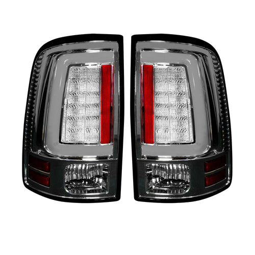 RECON™ Tail Lights OLED in Clear Lens for 2013-2018 Dodge Ram 1500,2500,3500 (Replaces OEM LED) / 264336CL