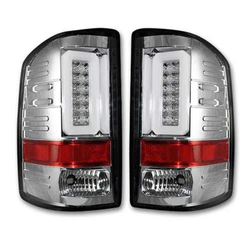 RECON™ Tail Lights OLED in Clear Lens for 2016-2018 Sierra & 2016-2019 2500,3500 / 264298CL