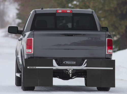 "ROXTER™ Hitch Mounted Mud Flaps Universal Design 2"" Receiver / D100001"