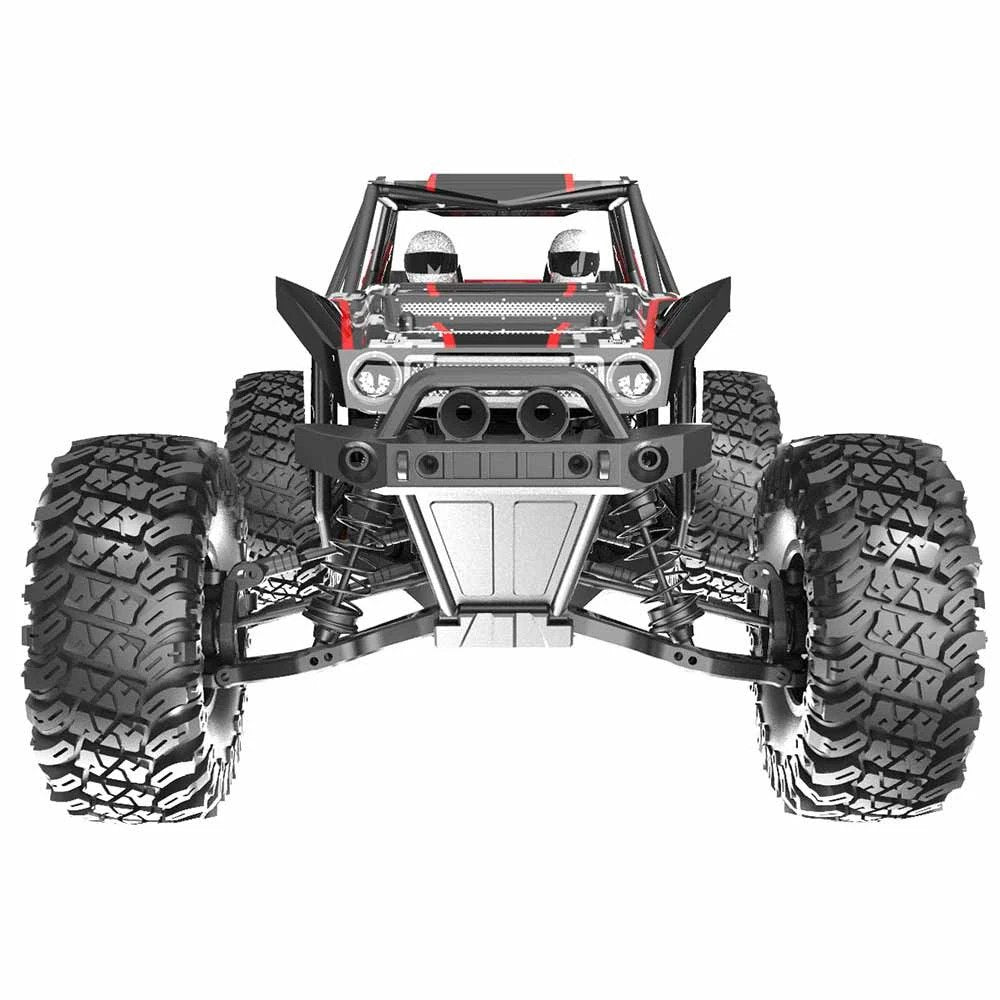 Redcat Camo X4 1/10 Scale Brushless Electric RC Rock Racer / CAMO-X4-RED