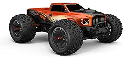 Redcat TR-MT10E 1/10 Scale Remote Control Monster Truck - Orange / TR-MT10E-ORANGE
