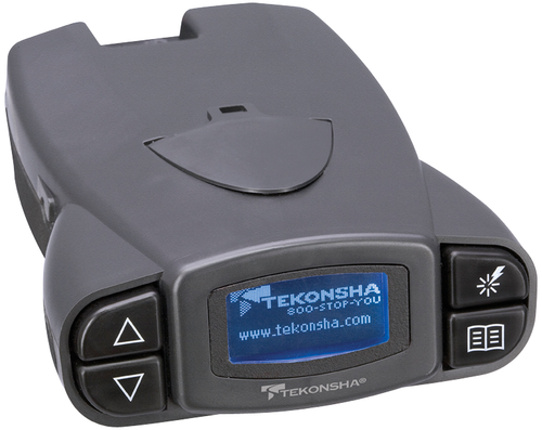Tekonsha P3® Electronic Brake Control for 1 to 4 Axle Trailers, Proportional / 90195
