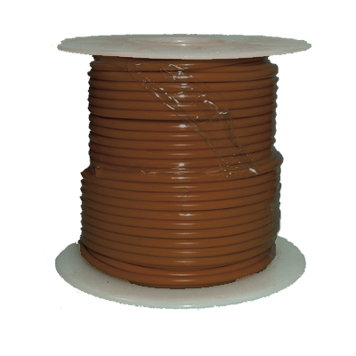 Uni-Bond Primary Wire (Type GPT) Brown 14GA, 1000 ft.