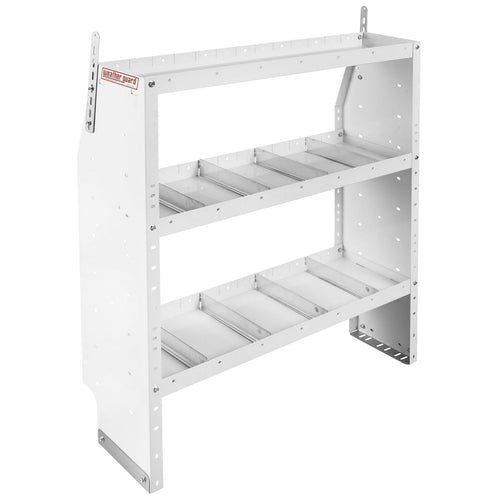 WEATHER GUARD® Adjustable 3-Shelf Unit, 44in X 42in X 13.5in - white