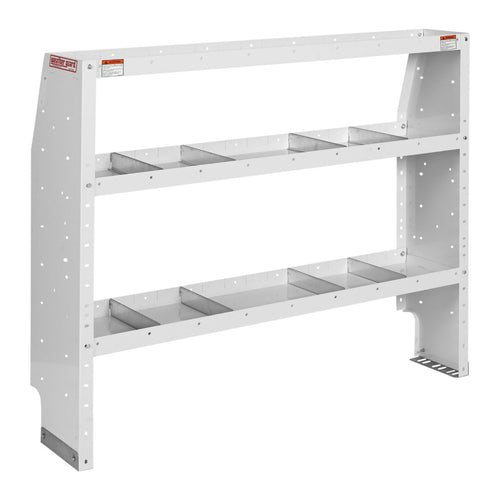 WEATHER GUARD® Adjustable 3-Shelf Unit, 44in X 52in X 13.5in - white