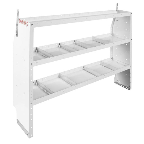 WEATHER GUARD® Adjustable 3-Shelf Unit, 44in X 60in X 13.5in - white