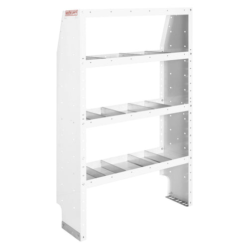 WEATHER GUARD® Adjustable 4-Shelf Unit, 60in X 36in X 13.5in - white