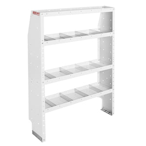 WEATHER GUARD® Adjustable 4-Shelf Unit, 60in X 42in X 13.5in - white