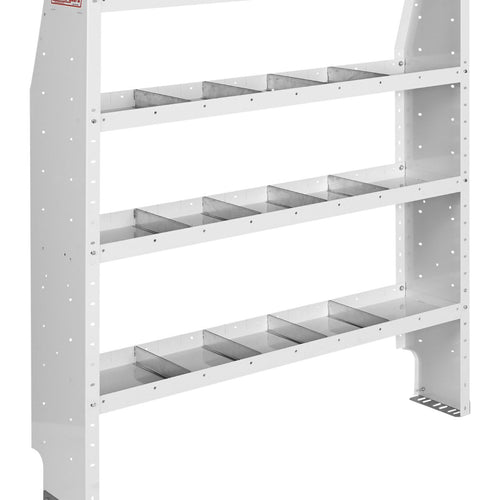 WEATHER GUARD® Adjustable 4-Shelf Unit, 60in X 52in X 13.5in - white