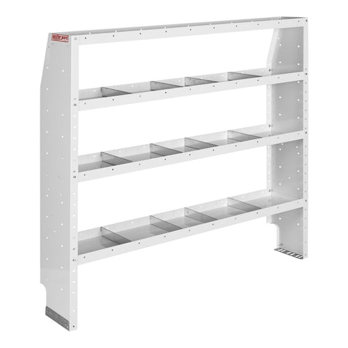 WEATHER GUARD® Adjustable 4-Shelf Unit, 60in X 60in X 13.5in - white