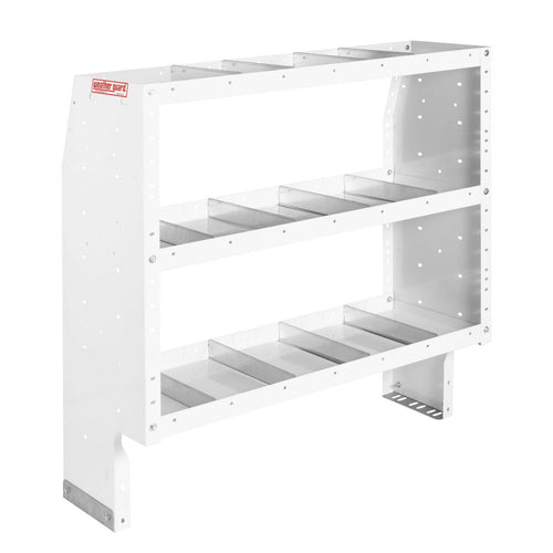 WEATHER GUARD® Heavy Duty Adjustable 3-Shelf Unit, 44in X 42in X 16in - white
