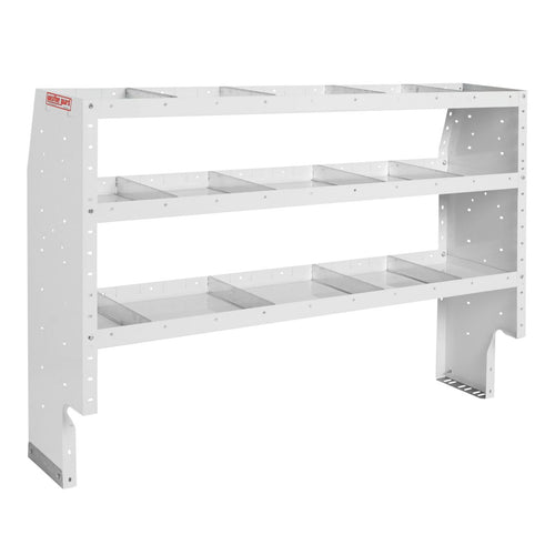 WEATHER GUARD® Heavy Duty Adjustable 3-Shelf Unit, 44in X 60in X 16in - white