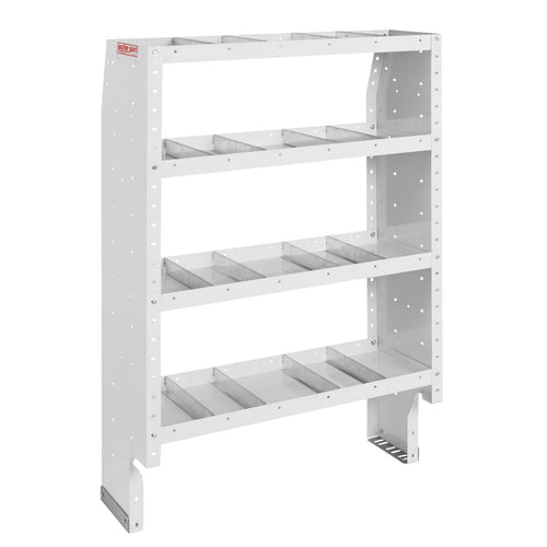 WEATHER GUARD® Heavy Duty Adjustable 4-Shelf Unit, 60in X 36in X 16in - white