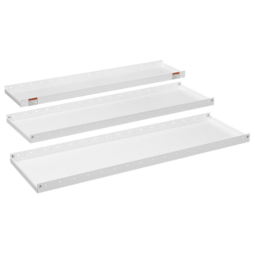 WEATHER GUARD® Heavy Duty Adjustable 3-Shelf Set 52in X 16in. white