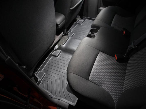 WeatherTech Black Second Row Floor Liner - 2004-2012 Chevrolet Colorado/ GMC Canyon Crew Cab