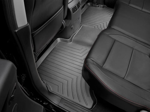 WeatherTech Black Second Row Floor Liner - 2004-2015 Nissan Titan Crew
