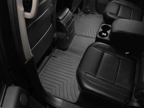 WeatherTech Black Second Row Floor Liner - 2004-2010 Infiniti QX56, 2004-2015 Nissan Armada