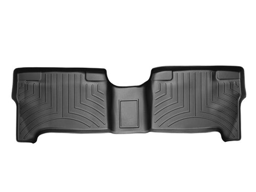 WeatherTech Black Second Row Floor Liner - 2004-2006 Toyota Tundra Double Cab