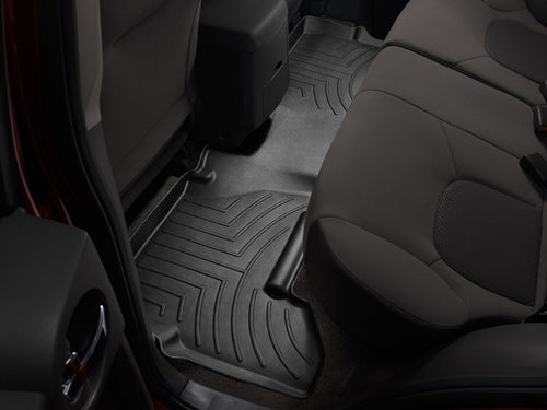WeatherTech Black Second Row Floor Liner - 2005-2012 Nissan Pathfinder / 2005-2014 Nissan Xterra