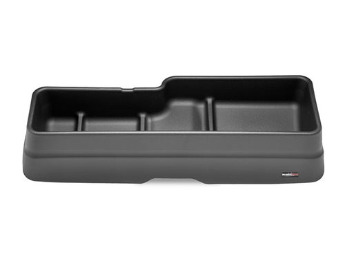 WeatherTech Underseat Storage System - 2019-2020 Toyota Silverado/Sierra 1500, 2020 HD Extended/Crew Cab, black color