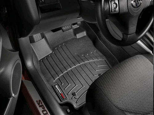 WeatherTech Black Front Floor Liner - 2006-2010 Ford Explorer 4 Door