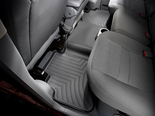 WeatherTech Black Second Row Floor Liner - 2002-2008 Dodge Ram 1500, 2003-2009 Dodge Ram 2500/3500
