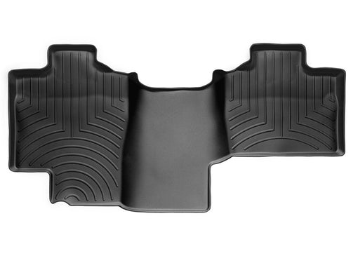 WeatherTech Black Second Row Floor Liner - 2004-2008 Ford F150 Extended Cab