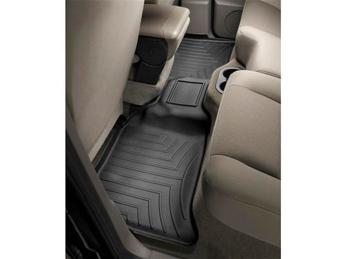 WeatherTech Black Second Row Floor Liner - 2005-2011 Dodge Dakota Quad Cab
