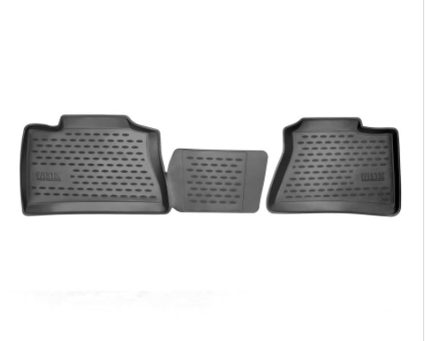 Westin Profile Third Row Floor Liners - 2015-2020 Cadillac Escalade black mat