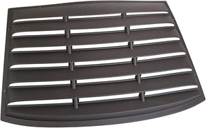 Willpack Industries Window Louvers - 2006-2010 Charger 4-Door 1-pc Louver / 1557