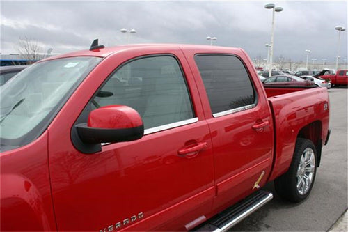 Putco® Window Trim Accents - 2007-2013 GM Crew, Tahoe, Suburban, Avalanche, Yukon / 97501