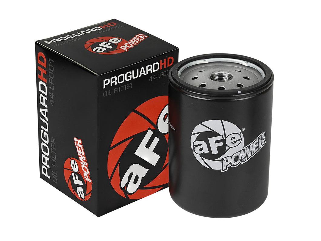 aFe POWER® Pro GUARD HD Oil Filter - 2001-2018 Silverado/Sierra HD Duramax / 44-LF001