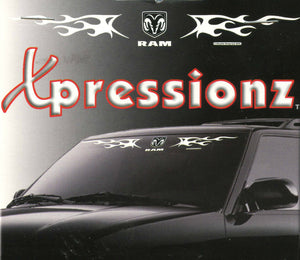 EXPRESSIONZ DODGE W/ FLAMES