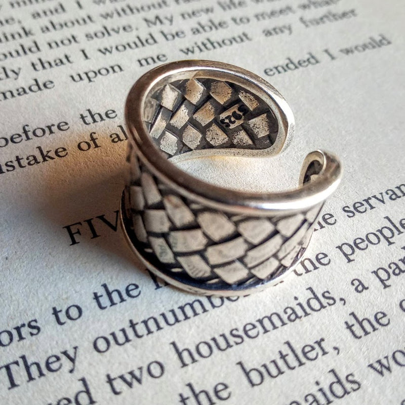 Tribal Weave Ring