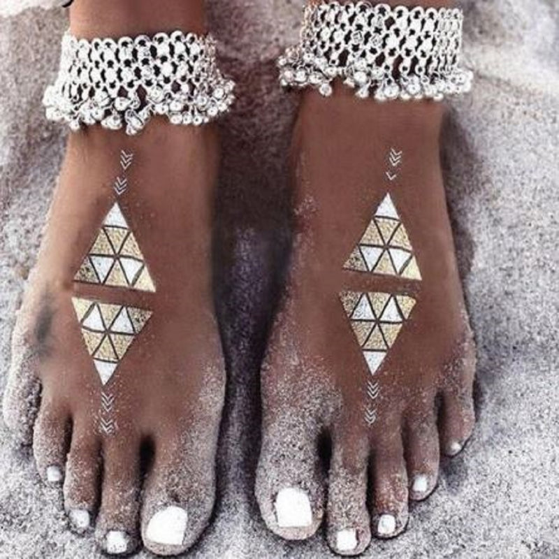 """Tribal Bells"" -  Anklet or Bracelet"