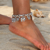 Silver Tribal Elephant Anklet