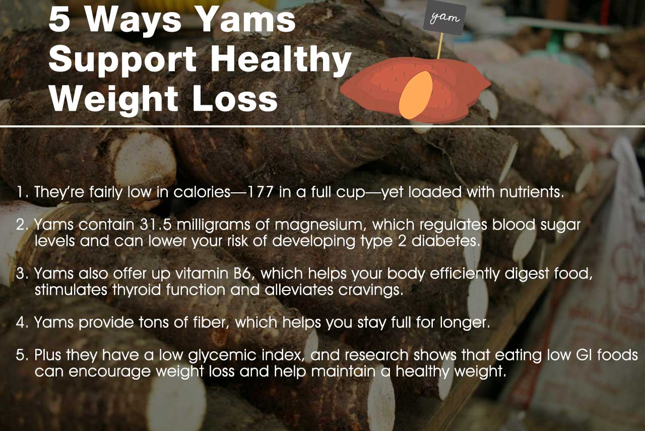 5 Ways Yams Support Healthy Weight Loss