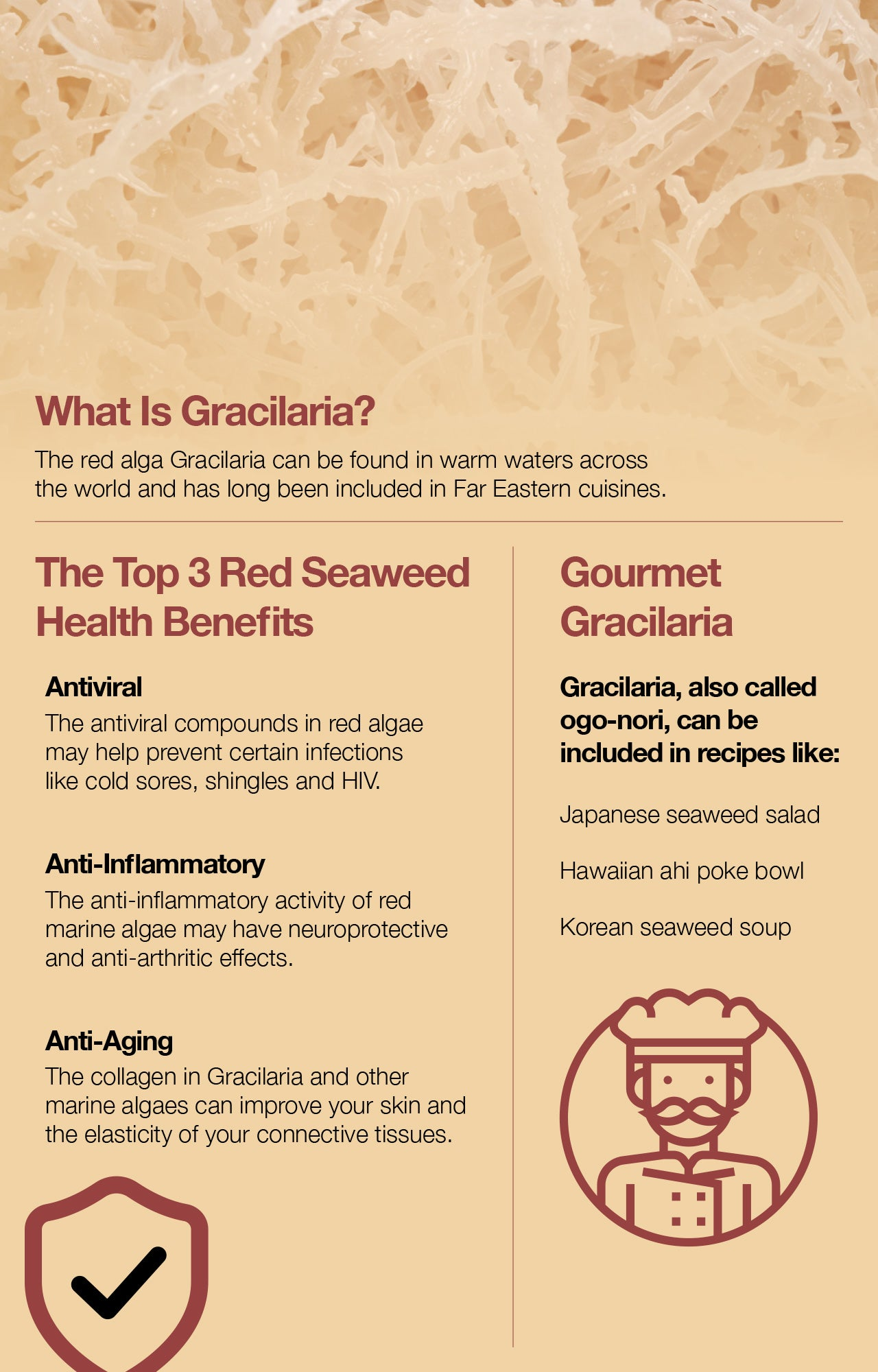 The Top 3 Red Seaweed Health Benefits