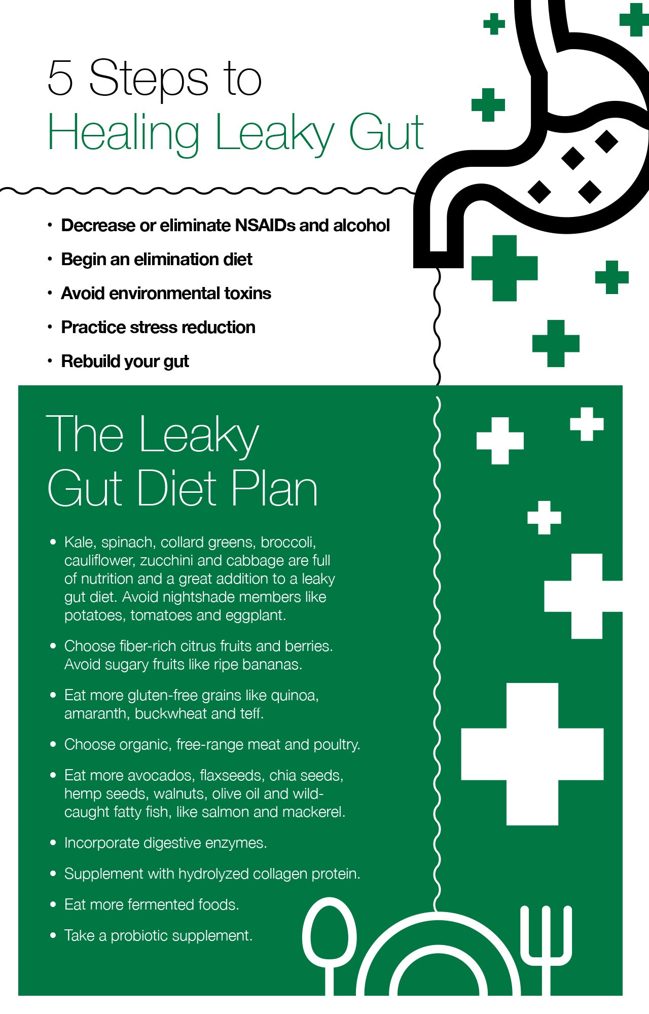 5 Steps to Healing Leaky Gut