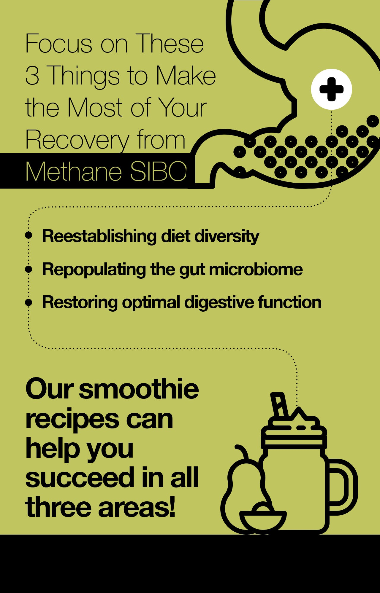 Focus on These 3 Things to Make the Most of Your Recovery from Methane SIBO